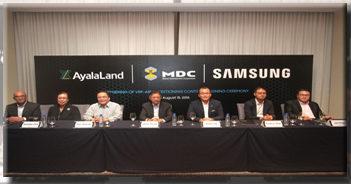 Samsung PH Ayala Land MDC